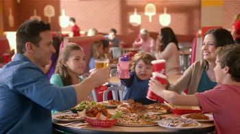 Peter Piper Pizza TV Spot, 'Here's to the Family'