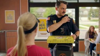 Hungry Howie's Meal Deals TV Spot, 'Mall Cop'