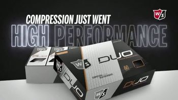 Wilson DUO Professional TV Spot, 'Nothing Feels Better Than DUO' - Thumbnail 9