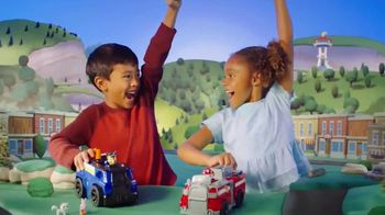 Paw Patrol Ride & Rescue Vehicles TV Spot, 'Transform'