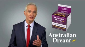 Australian Dream Back Pain Cream TV Spot, 'Getting Through the Day'
