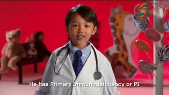 Jeffrey Modell Foundation TV Spot, 'When I Grow Up.. I Want to be a Doctor!' - Thumbnail 5