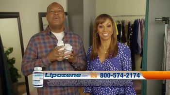 Lipozene TV Spot, 'New Year's: Look Good, Feel Good' Ft. Holly Robinson Peete, Rodney Peete - Thumbnail 8