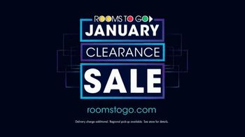 Rooms to Go January Clearance Sale TV Spot, 'Sofas and Reversible Chaises' - Thumbnail 9