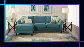 Rooms to Go January Clearance Sale TV Spot, 'Sofas and Reversible Chaises' - Thumbnail 3