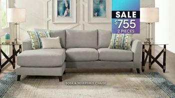 Rooms to Go January Clearance Sale TV Spot, 'Sofas and Reversible Chaises' - Thumbnail 8