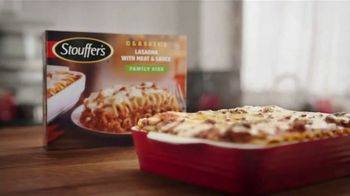 Stouffer\'s Classics Lasagna TV Spot, \'Two Times the Beef\'