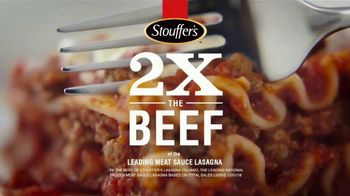 Stouffer's Classics Lasagna TV Spot, 'Two Times the Beef'