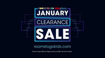 Rooms to Go Kids January Clearance Sale TV Spot, 'Bunk Beds' - Thumbnail 9