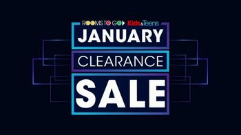 Rooms to Go Kids January Clearance Sale TV Spot, 'Bunk Beds' - Thumbnail 1