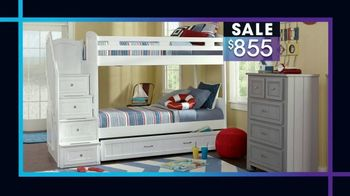 Rooms to Go Kids January Clearance Sale TV Spot, 'Bunk Beds' - Thumbnail 3