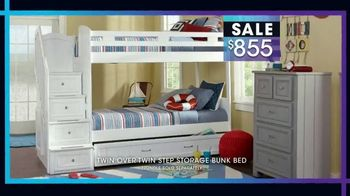 Rooms to Go Kids January Clearance Sale TV Spot, 'Bunk Beds' - Thumbnail 5