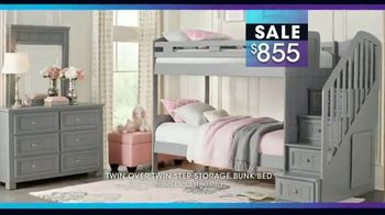 Rooms to Go Kids January Clearance Sale TV Spot, 'Bunk Beds' - Thumbnail 6