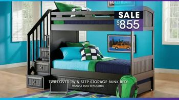Rooms to Go Kids January Clearance Sale TV Spot, 'Bunk Beds' - Thumbnail 7