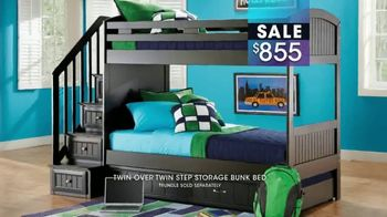Rooms to Go Kids January Clearance Sale TV Spot, 'Bunk Beds' - Thumbnail 8