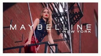 Maybelline New York SuperStay Matte Ink TV Spot, 'New York Inspired Shades' Featuring Gigi Hadid - Thumbnail 1