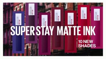 Maybelline New York SuperStay Matte Ink TV Spot, 'New York Inspired Shades' Featuring Gigi Hadid - Thumbnail 7