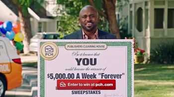 Publishers Clearing House Forever Prize TV Spot, 'Do Not Miss Your Chance' Featuring Wayne Brady - Thumbnail 8