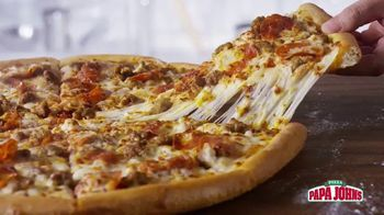 Papa John's 1-Topping Pizzas TV Spot, 'Ocasiones especiales' [Spanish]