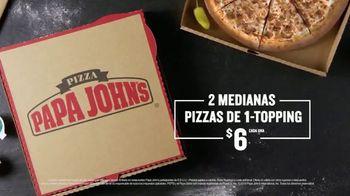 Papa John's 1-Topping Pizzas TV Spot, 'Ocasiones especiales' [Spanish] - Thumbnail 6