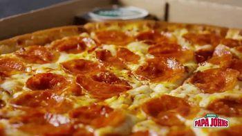 Papa John's 1-Topping Pizzas TV Spot, 'Ocasiones especiales' [Spanish] - Thumbnail 2