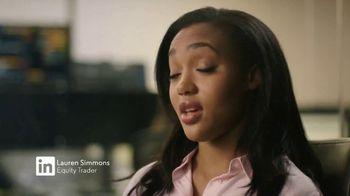 LinkedIn TV Spot, 'In It to Change the Game: Lauren Simmons'