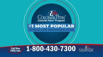 Colonial Penn TV Spot, 'Need for Life Insurance'