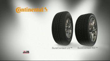 Tire Kingdom Big Brands Bonus Month TV Spot, 'Continental Tire Rebate' - Thumbnail 6