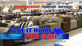 American Freight Red Tag Blowout TV Spot, 'House Full of Furniture' - Thumbnail 2