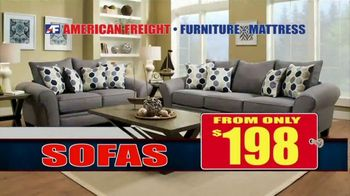 American Freight Red Tag Blowout TV Spot, 'House Full of Furniture' - Thumbnail 4