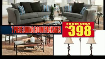 American Freight Red Tag Blowout TV Spot, 'House Full of Furniture' - Thumbnail 6