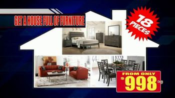 American Freight Red Tag Blowout TV Spot, 'House Full of Furniture' - Thumbnail 7