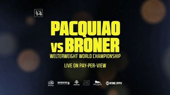 Showtime TV Spot, 'Pacquiao vs. Broner' Song by Riles - Thumbnail 8