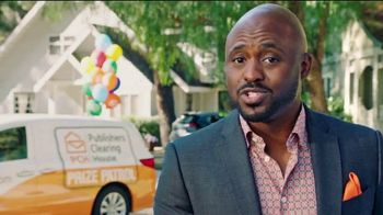 Publishers Clearing House Forever Prize TV Spot, 'Don't Miss Your Chance' Featuring Wayne Brady - 335 commercial airings