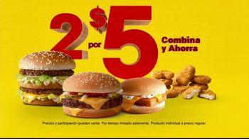 McDonald's 2 for $5 Mix & Match Deal TV Spot, 'Renovado' [Spanish] - Thumbnail 8