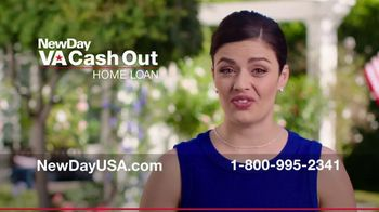 NewDay USA VA Cash Out Home Loan TV Spot, 'Home Values are Rising'