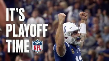 NFL TV Spot, 'Playoff Time: Talent, Skill, Luck' - 7 commercial airings