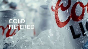 Coors Light TV Spot, 'Cold for Peak Refreshment' Song by Pigeon John - Thumbnail 4