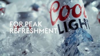 Coors Light TV Spot, 'Cold for Peak Refreshment' Song by Pigeon John - Thumbnail 7