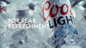 Coors Light TV Spot, 'Cold for Peak Refreshment' Song by Pigeon John - Thumbnail 8