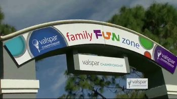 2019 Valspar Championship TV Spot, 'Fan-Friendly Experiences' - Thumbnail 3
