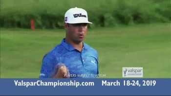 2019 Valspar Championship TV Spot, 'Fan-Friendly Experiences'