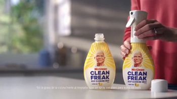 Mr. Clean Clean Freak Deep Cleaning Mist TV Spot, 'Gran noticia' [Spanish] - Thumbnail 9