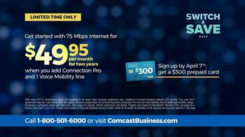 Comcast Business Switch & Save Days TV Spot, 'Excited Business Owners: Save $600' - Thumbnail 5