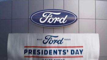 Ford Presidents Day Sales Event TV Spot, 'Voters Will Be Very Happy' [T2] - Thumbnail 2