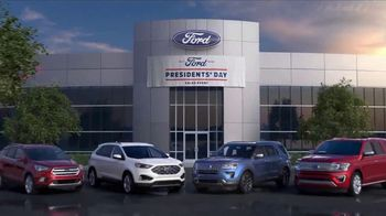 Ford Presidents Day Sales Event TV Spot, 'Voters Will Be Very Happy' [T2] - Thumbnail 5