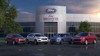 Ford Presidents Day Sales Event TV Spot, 'Voters Will Be Very Happy' [T2]