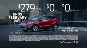 Ford Presidents Day Sales Event TV Spot, 'Voters Will Be Very Happy' [T2] - Thumbnail 7