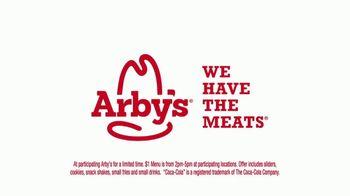 Arby's $1 Sliders TV Spot, 'Spoiling Dinner' Song by YOGI - Thumbnail 8