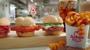 Arby's $1 Sliders TV Spot, 'Spoiling Dinner' Song by YOGI - Thumbnail 3